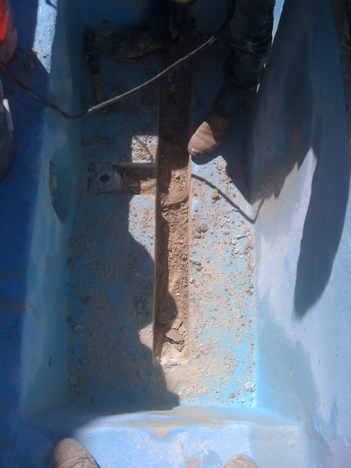 Jobs done photo gallery Swimming pool leak detection brisbane