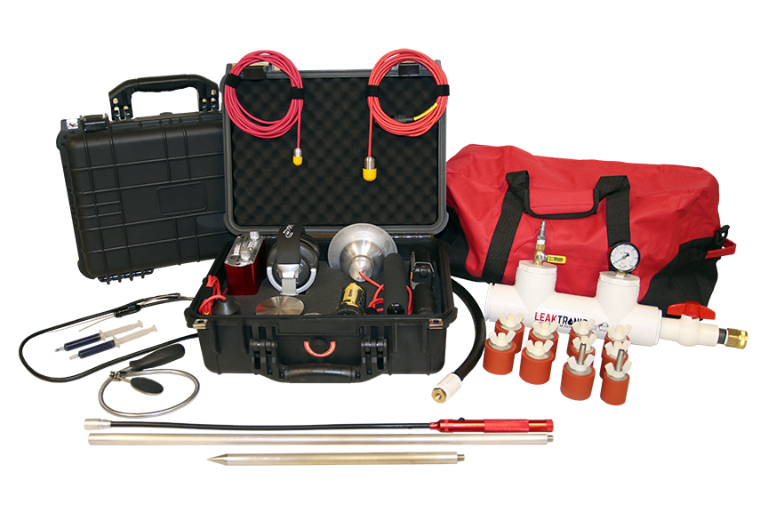 The Pro Complete Swimming Pool leak Detection Kit from LeakTronics